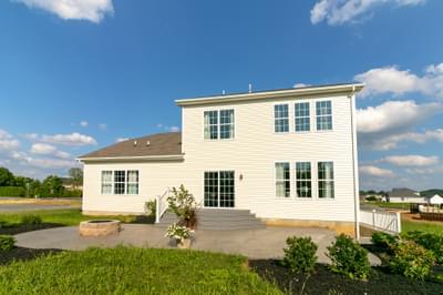 Vinecrest Exterior. Vinecrest New Home in Easton, PA