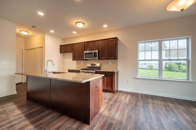 Pinehurst Kitchen & Dining Nook. 1,530sf New Home in Drums, PA