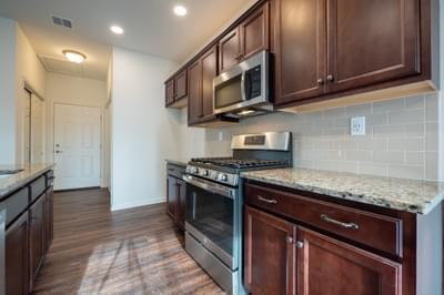 Pinehurst Kitchen. Pinehurst New Home in Drums, PA