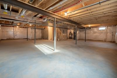 Pinehurst Basement. 1,530sf New Home in Drums, PA