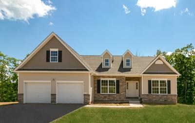 St. Andrews Traditional Exterior. St. Andrews New Home in White Haven, PA
