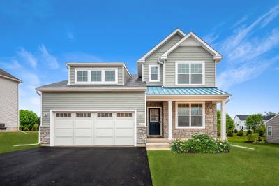 Franklyn Craftsman Exterior. New Home in Schnecksville, PA