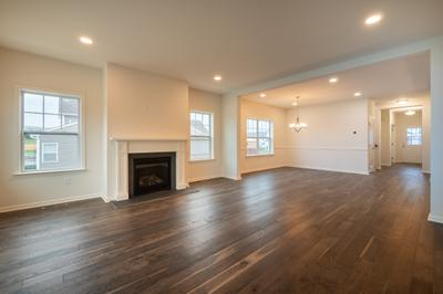 Franklyn Great Room. Schnecksville, PA New Home