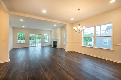 Franklyn Great Room. New Home in Schnecksville, PA