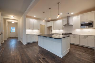 Franklyn Kitchen. Franklyn New Home in Schnecksville, PA