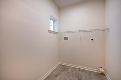 Franklyn Second Floor Laundry Room. Franklyn New Home in Schnecksville, PA