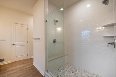 Franklyn Owner's Bath. Schnecksville, PA New Home