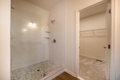 Franklyn Owner's Bath. 3br New Home in Schnecksville, PA