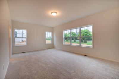 Franklyn Owner's Suite. 2,486sf New Home in Schnecksville, PA