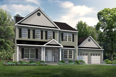The Meridian New Home Plan in Tatamy PA