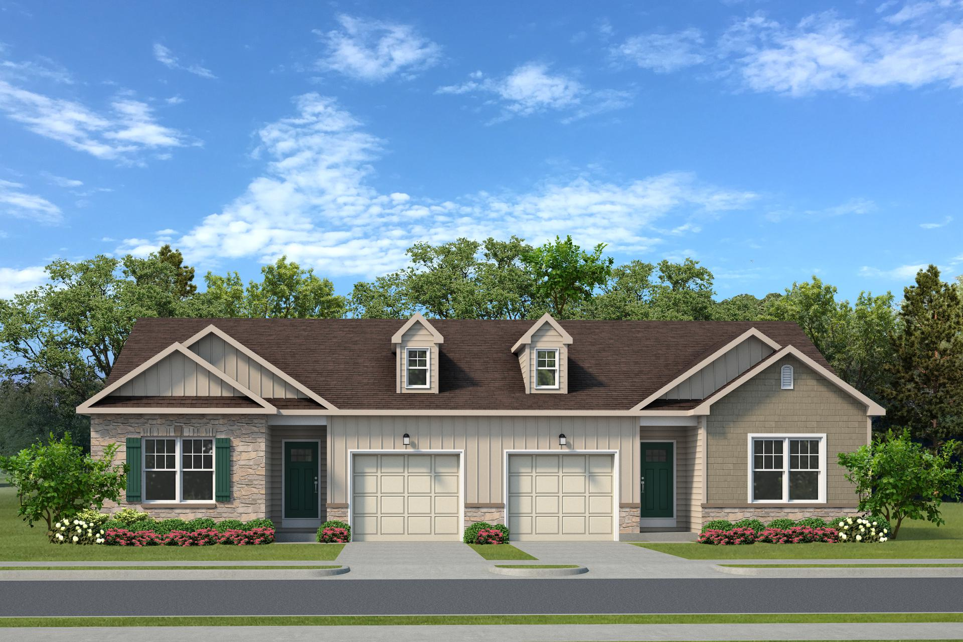 The Cottages New Home in White Haven PA - Golden Oaks Village