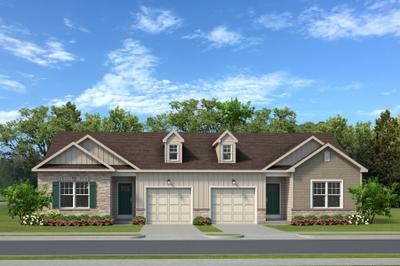 The Cottages New Home Plan in White Haven PA