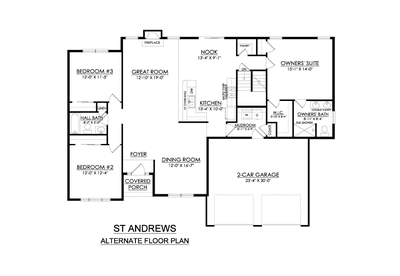 SS-491 Floor Plan. New Home in Drums, PA