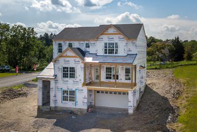 RP-1 Exterior. Schnecksville, PA New Home