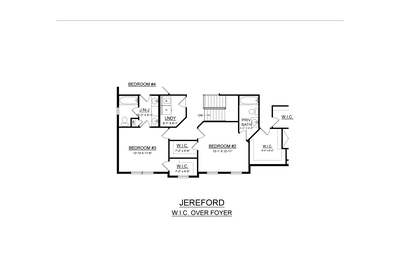 Optional Walk-In Closets Over Foyer. 4br New Home in Easton, PA