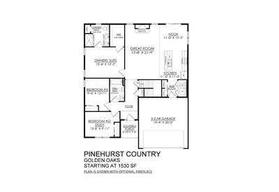 Country Base - Golden Oaks. Pinehurst New Home in White Haven, PA