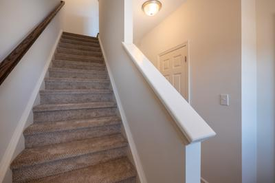 Towns at Woods Edge - Stairs. Drums, PA New Home