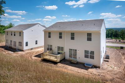 Towns at Woods Edge - Exterior. 3br New Home in Drums, PA