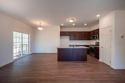 Towns at Woods Edge - Kitchen. 3br New Home in Drums, PA