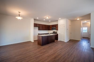 Towns at Woods Edge - Kitchen & Dining Nook. 3br New Home in Drums, PA