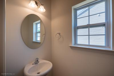 Nittany Powder Room. 2,081sf New Home in Drums, PA