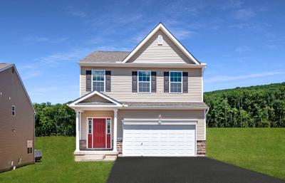 Nittany Exterior. 2,081sf New Home in Drums, PA