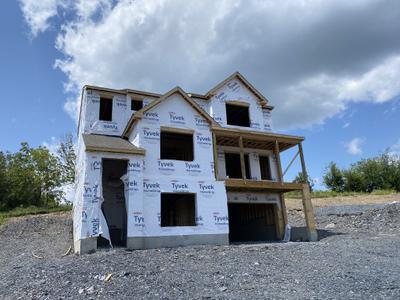 RP-3 Exterior. New Home in Schnecksville, PA