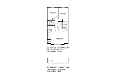 Towns at Woods Edge - Sand Springs - 2nd Floor. New Home in Drums, PA