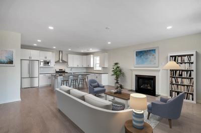 Whitehall Great Room & Kitchen. New Home in Schnecksville, PA