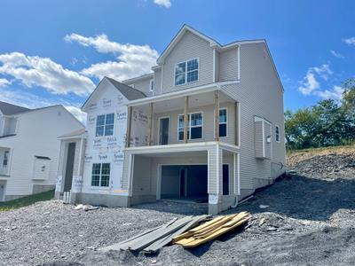 RP-3 Exterior. 2,546sf New Home in Schnecksville, PA